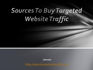 How to Buy Website Traffic for My Website?
