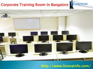 Corporate Training Room In Bangalore