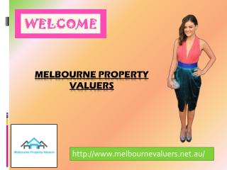 Melbourne Property Valuers for property valuations