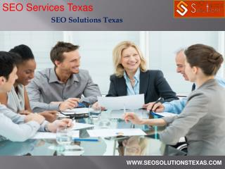 SEO Services Texas