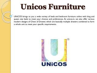 Bedside Tables, Buy Bedside Tables, Night Stands for Modern Bed Designs - UNiCOS