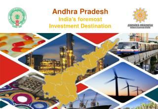 Sunrise Andhra Pradesh presented by J. Krishna Kishore IRS, CEO, Andhra Pradesh Economic Development Board