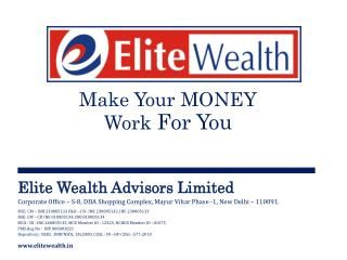 Elite Wealth Advisors Ltd. Corporate Profile