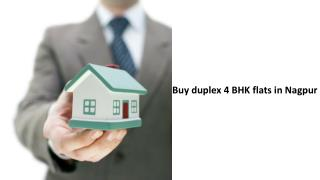 Buy duplex 4 BHK flats in Nagpur