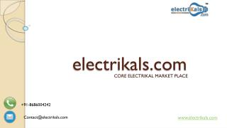 CROMPTON GREAVES electrical products | electrikals.com