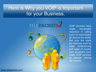 Here is Why you VOIP is Important for your Business