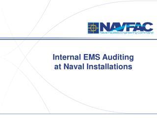 Internal EMS Auditing at Naval Installations