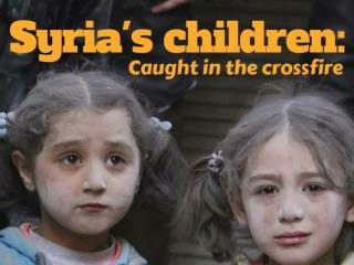 Syria's children: Caught in the crossfire