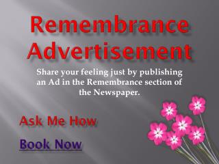 Remembrance-Classified-Advertisement-in-Newspapers