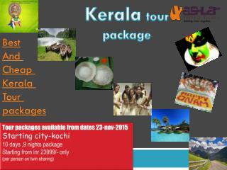 keralatour package
