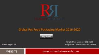 Pet Food Packaging Market Development & Industry Challenges Report to 2019