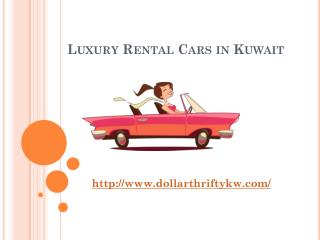 Luxury Rental Cars in Kuwait