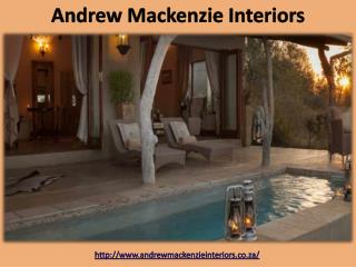 Andrew Mackenzie - South African Interior Decorators