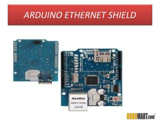 Buy Arduino Ethernet Shield India by ROBOMART