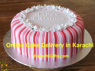 Online Cake Delivery in Karachi