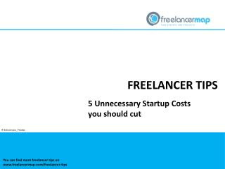 5 unnecessary startup costs you should cut