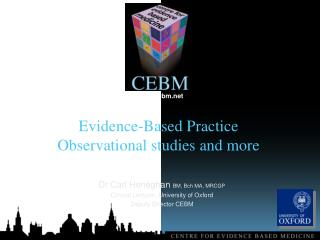 Evidence-Based Practice  Observational studies and more