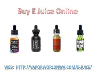Buy E Juice Online