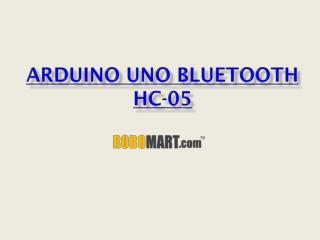 Arduino UNO Bluetooth HC-05 by Robomart
