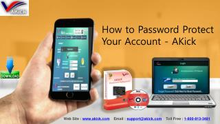 How to Secure Your Login Password with AKick