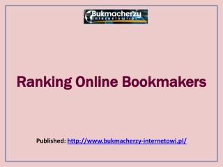 Bukmacherzy-Ranking Online Bookmakers