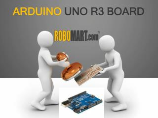 Arduino Uno R3 Buy Online India By Robomart
