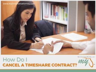 Timeshare Cancellation – What You Should Know!
