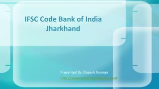 IFSC code of BOI Jharkhand