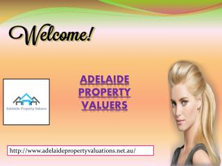 Adelaide Property Valuers for property valuer