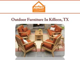 Outdoor Furniture In Killeen, TX