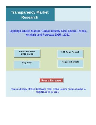 Lighting Fixtures Market