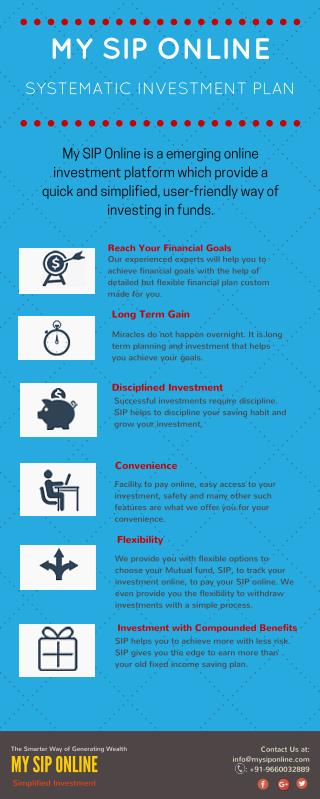 Systematic Investment Plan (SIP) - My SIP Online