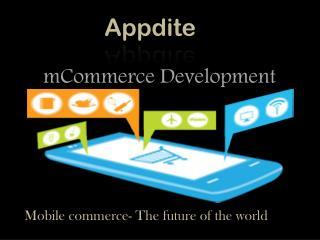 Appdite Future of mCommerce