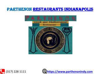 Restaurants in indianapolis