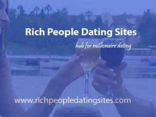 Millionaire Dating Sites- Date &Meet Rich People