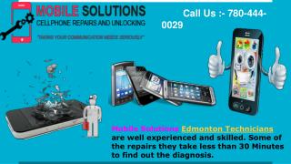 Mobile solutions   Edmonton Repair and Unlocking Phone