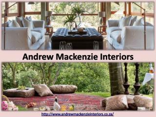 Andrew Mackenzie - Interior Designer South Africa