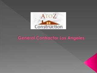 General Contractor Los Angeles