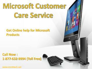 Microsoft customer service || 1-877-632-9994 || Microsoft Customer Care