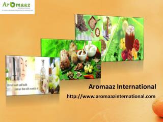 Natural Essential Oils @ Aromaazinternational.com