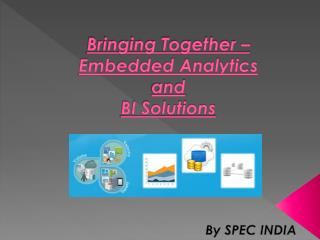 Bringing Together � Embedded Analytics and BI Solutions