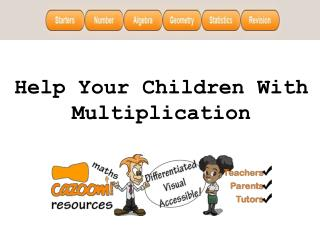 Help Your Children With Multiplication