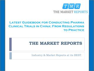Latest Guidebook for Conducting Pharma Clinical Trials in China: From Regulations to Practice