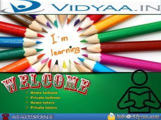 Get ultimate Home tutors in Noida