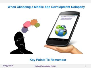 Why should choose best mobile apps development company