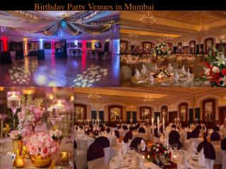 Birthday party venues in mumbai near elephanta caves