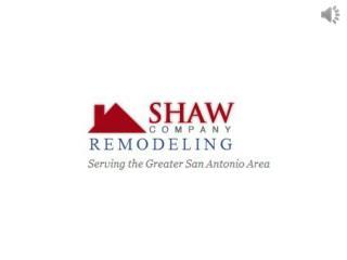Outdoor Living Remodeling | Custom Deck Company San Antonio | Shaw Company