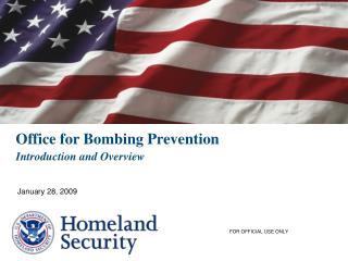 Office for Bombing Prevention