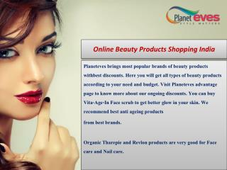 Online Beauty Products Shopping India - Planeteves