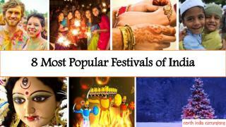 Most Popular Festivals of India